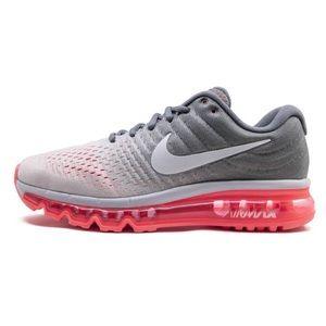 Gray/Neon Pink Nike Air Max 2017 | 8